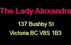 The Lady Alexandra 137 Bushby V8S 1B3