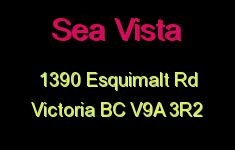 Sea Vista 1390 Esquimalt V9A 3R2