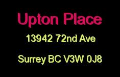 Upton Place 13942 72ND V3W 0J8