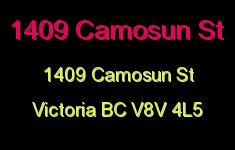 1409 Camosun St 1409 Camosun V8V 4L5