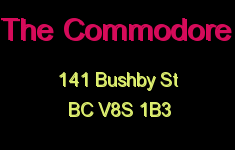 The Commodore 141 Bushby V8S 1B3