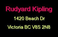 Rudyard Kipling 1420 Beach V8S 2N8