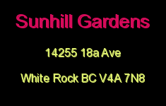 Sunhill Gardens 14255 18A V4A 7N8