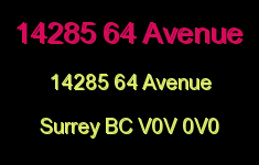 14285 64 Avenue 14285 64 V0V 0V0