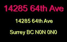 14285 64th Ave 14285 64TH N0N 0N0