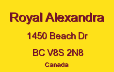 Royal Alexandra 1450 Beach V8S 2N8