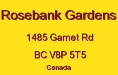 Rosebank Gardens 1485 Garnet V8P 5T5