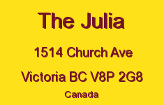The Julia 1514 Church V8P 2G8