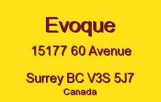 Evoque 15177 60 V3S 5J7
