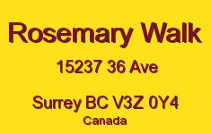 Rosemary Walk 15237 36 V3Z 0Y4