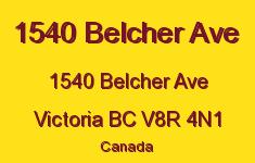 1540 Belcher Ave 1540 Belcher V8R 4N1