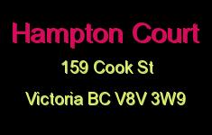 Hampton Court 159 Cook V8V 3W9