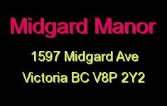 Midgard Manor 1597 Midgard V8P 2Y2