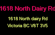 1618 North Dairy Rd 1618 North Dairy V8T 3V5