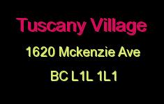 Tuscany Village 1620 McKenzie L1L 1L1