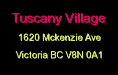 Tuscany Village 1620 McKenzie V8N 0A1