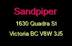 Sandpiper 1630 Quadra V8W 3J5