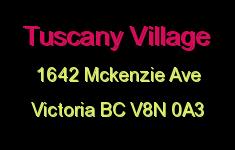 Tuscany Village 1642 McKenzie V8N 0A3