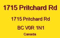 1715 Pritchard Rd 1715 Pritchard V0R 1N1