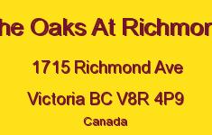 The Oaks At Richmond 1715 Richmond V8R 4P9