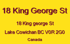 18 King George St 18 King George V0R 2G0