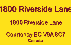 1800 Riverside Lane 1800 Riverside V9A 8C7