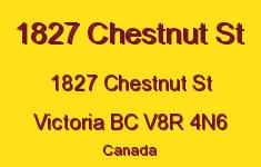 1827 Chestnut 1827 Chestnut V8R 4N6