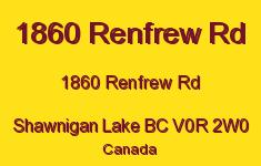 1860 Renfrew Rd 1860 Renfrew V0R 2W0
