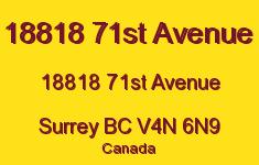 18818 71st Avenue 18818 71ST V4N 6N9
