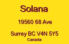 Solana 19560 68 V4N 5Y5