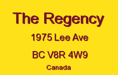 The Regency 1975 Lee V8R 4W9