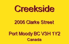 Creekside 2006 CLARKE V3H 1Y2