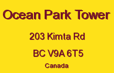 Ocean Park Tower 203 Kimta V9A 6T5
