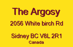 The Argosy 2056 White Birch V8L 2R1