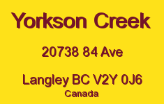 Yorkson Creek 20738 84 V2Y 0J6