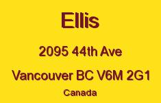 Ellis 2095 44TH V6M 2G1