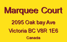 Marquee Court 2095 Oak Bay V8R 1E6