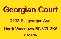 Georgian Court 2133 ST. GEORGES V7L 3K5