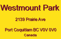 Westmount Park 2139 PRAIRIE V0V 0V0