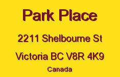 Park Place 2211 Shelbourne V8R 4K9