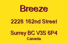 Breeze 2228 162ND V3S 6P4