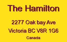 The Hamilton 2277 Oak Bay V8R 1G6