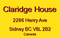 Claridge House 2286 Henry V8L 2B2