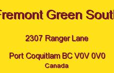 Fremont Green South 2307 RANGER V0V 0V0