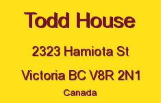 Todd House 2323 Hamiota V8R 2N1