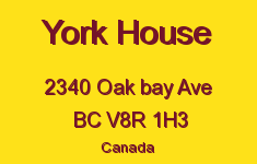 York House 2340 Oak Bay V8R 1H3