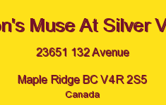 Myron's Muse At Silver Valley 23651 132 V4R 2S5