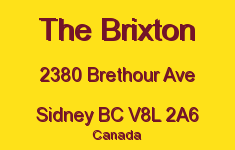 The Brixton 2380 Brethour V8L 2A6