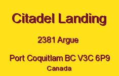 Citadel Landing 2381 ARGUE V3C 6P9