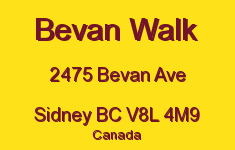 Bevan Walk 2475 Bevan V8L 4M9